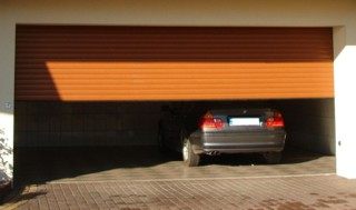 Garażowa brama rolowana